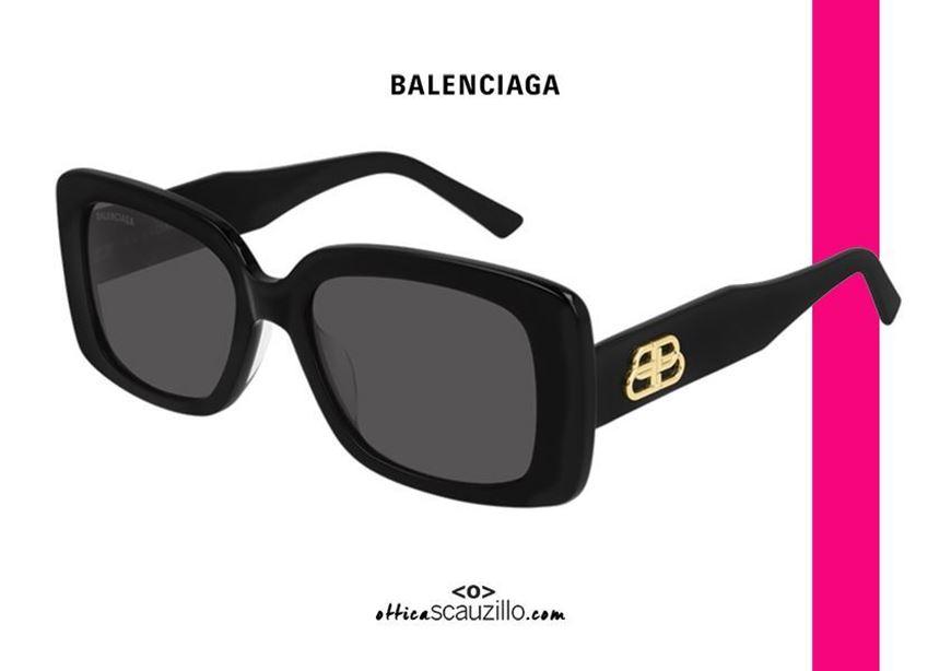 NEW rectangular Balenciaga BB0048S col