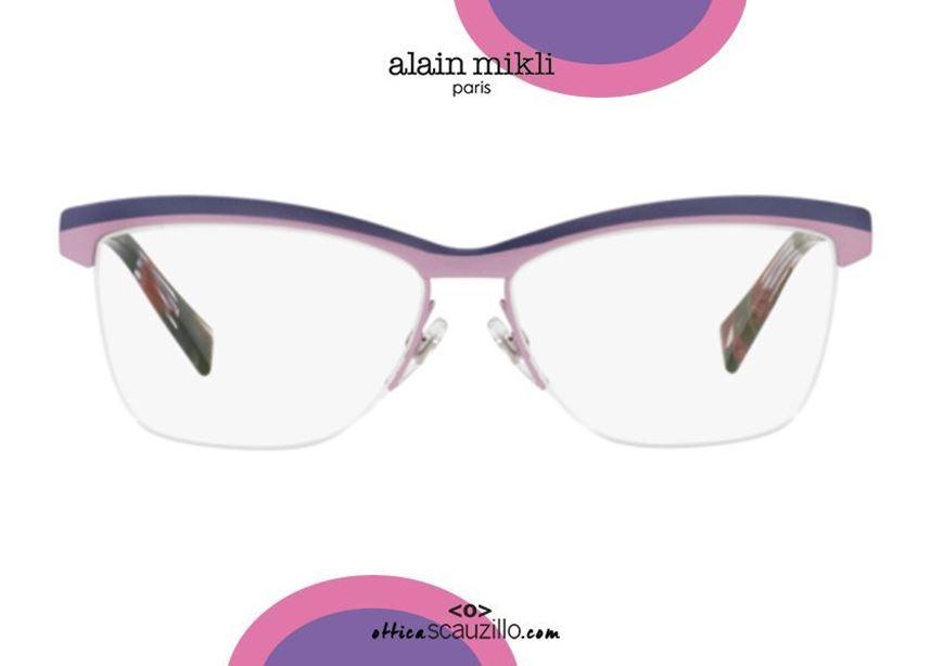 shop online Rimless under eyeglasses Alain Mikli AO2012 col. 3053 purple otticascauzillo.com acquisto online Occhiale da vista senza montatura sotto Alain Mikli AO2012 col.3053 viola