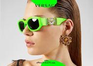 shop online Biggie sunglasses fluorescent green VERSACE 4361 medusa logo otticascauzillo.com acquisto online nuovo Occhiale da sole Biggie verde fluo VERSACE 4361 logo medusa