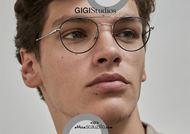 shop online new Round double bridge metal eyeglasses GIGI Studios OCEAN 64498 silver otticascauzillo.com acquisto online nuovo Occhiale da vista tondo doppio ponte GIGI Studios OCEAN 6449/8 argento