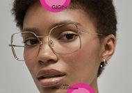 shop online Oversized squared metal eyeglasses GIGI Studios KIMBERLY 64375 gold otticascauzillo.com acquisto online Occhiale da vista metallo squadrato oversize GIGI Studios KIMBERLY 6437/5 oro