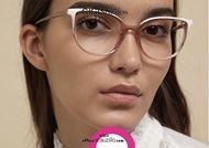 shop online Round pointed eyeglasses GIGI Studios GRETA 6472 pink and white otticascauzillo.com acquisto online Occhiale da vista tondo a punta GIGI Studios GRETA 6472/6 rosa e bianco