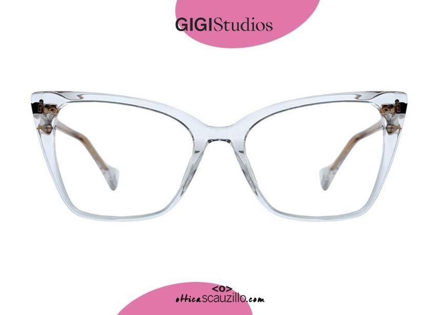 shop onlineSquare pointed eyeglasses cat eye GIGI Studios MARINA 8052 transparent otticascauzillo.com acquisto online nuovo Occhiale da vista squadrato a punta cat eye GIGI Studios MARINA 8052/8 trasparente