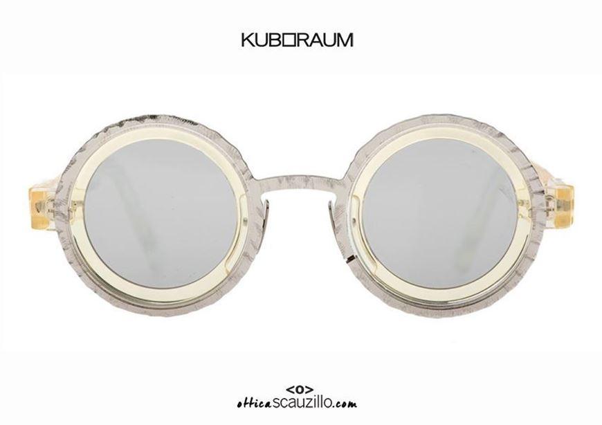 shop online New round sunglasses KUBORAUM Mask Z3 CHP champagne otticascauzillo.com acquisto online Nuovo occhiale da sole tondo KUBORAUM Mask Z3 CHP champagne