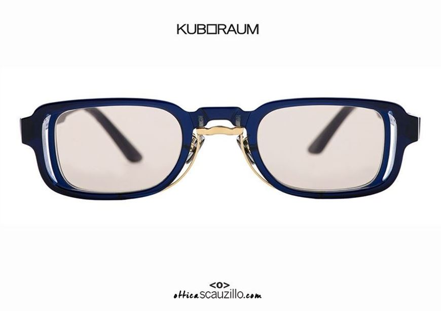 shop onlineNew rectangular KUBORAUM Mask N12 blue sunglasses otticascauzillo.com acquisto online Nuovo occhiale da sole rettangolare KUBORAUM Mask N12 blu
