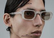 shop online New rectangular sunglasses KUBORAUM Mask N12 transparent pearl otticascauzillo.com acquisto online Nuovo occhiale da sole rettangolare KUBORAUM Mask N12 perla trasparente