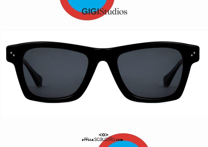 shop online New square sunglasses GIGI STUDIOS STEPHAN 6484 black otticascauzillo.com acquisto online nuovo occhiale da sole squadrato GIGI STUDIOS STEPHAN 6484/1 nero
