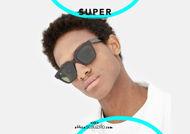 shop online new New square sunglasses RETRO SUPER FUTURE GIUSTO 3627 col. havana otticascauzillo acquisto online il tuo nuovo occhiale da sole squadrato RETRO SUPER FUTURE GIUSTO 3627 col. havana