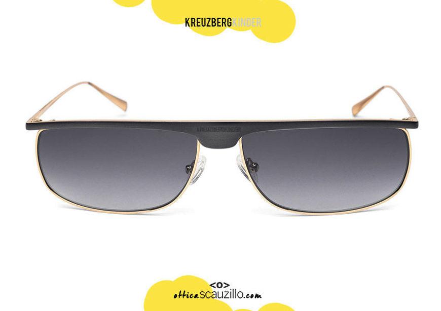 shop online your new Vintage metal sunglasses KreuzbergKinder JAGGER col. gold and blue satin on otticascauzillo.com acquisto online nuovo occhiale da sole metallo vintage KreuzbergKinder JAGGER  col. oro e blu satinato