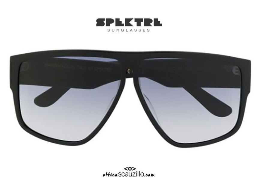 shop online new Super oversized Spektre LAURENT black sunglasses on otticascauzillo.com acquisto online nuovo Occhiale da sole super oversize Spektre LAURENT nero