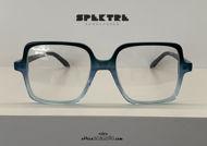 shop online new Oversized square Spektre CUORE MATTO blue green eyeglasses acquisto online nuovo Occhiale da vista oversize squadrato Spektre CUORE MATTO verde celeste