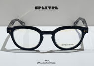 shop online new Spektre CARPE DIEM 01V black vintage moscot round eyeglasses on otticascauzillo.com acquisto online nuovo Occhiale da vista tondo moscot vintage Spektre CARPE DIEM 01V nero