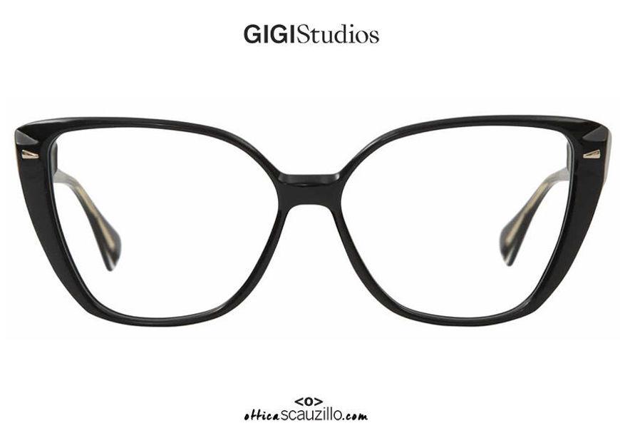 acquisto online nuovo Occhiale da vista a punta oversize GIGI Studios ITZIAR 6541 nero su otticascauzillo.com shop online new Oversized pointed eyeglasses GIGI Studios ITZIAR 6541/1 black