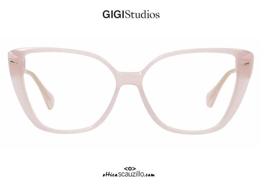 shop online new Oversized pointed eyeglasses GIGI Studios ITZIAR 6541/6 pink on otticascauzillo.com acquisto online nuovo Occhiale da vista a punta oversize GIGI Studios ITZIAR 6541/6 rosa