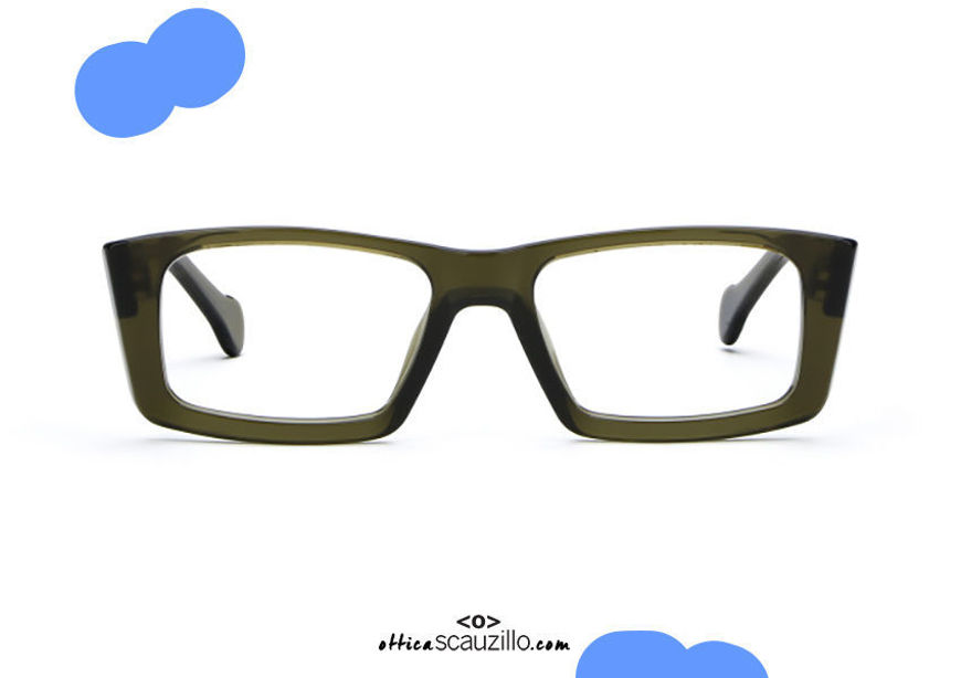 acquisto online su otticascauzillo.com il tuo nuovo Occhiale da vista rettangolare Saturnino Eyewear BROOKLYN col. 6 verde su otticascauzillo.com shop online new Rectangular Saturnino Eyewear BROOKLYN col. 6 green