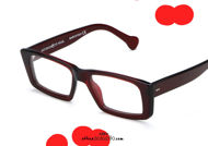 acquisto online nuovo Occhiale da vista rettangolare Saturnino Eyewear BROOKLYN col. 5 bordeaux su otticascauzillo.com shop online new  Rectangular Saturnino Eyewear BROOKLYN col. 5 burgundy