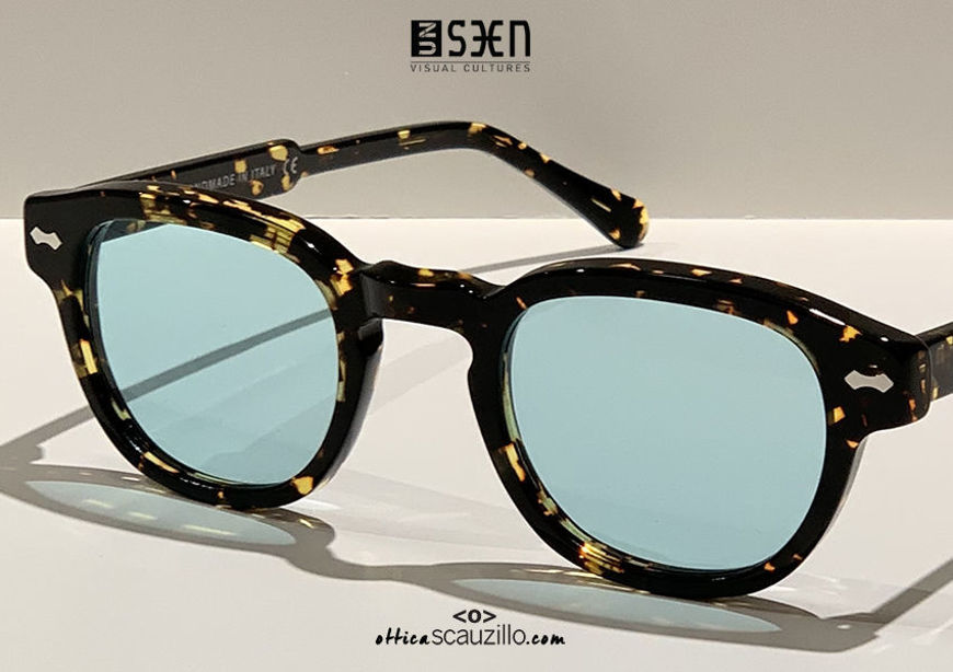 shop online new Small moscot sunglasses UNSEEN TRIBUTE col.06 brown havana on otticascauzillo.com acquisto online nuovo Occhiale da sole moscot piccolo UNSEEN TRIBUTE col.06 havana marrone
