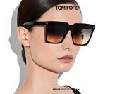 shop online new Super oversized square sunglasses TOM FORD SABRINA FT 0764 black on otticascauzillo.com acquisto online nuovo occhiale  da sole squadrato super oversize TOM FORD SABRINA FT 0764 nero