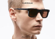 shop online new Square KUBORAUM sunglasses Mask N4 black satin, metal bridge on otticascauzillo.com acquisto online nuovo Occhiale da sole squadrato ponte metallo KUBORAUM Mask N4 nero satinato