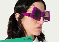 Acquista online su otticascauzillo.com il tuo nuovo occhiale da sole butterfly in acetato con ROMAN STUD Valentino VA 4091 col. 71W fucsia