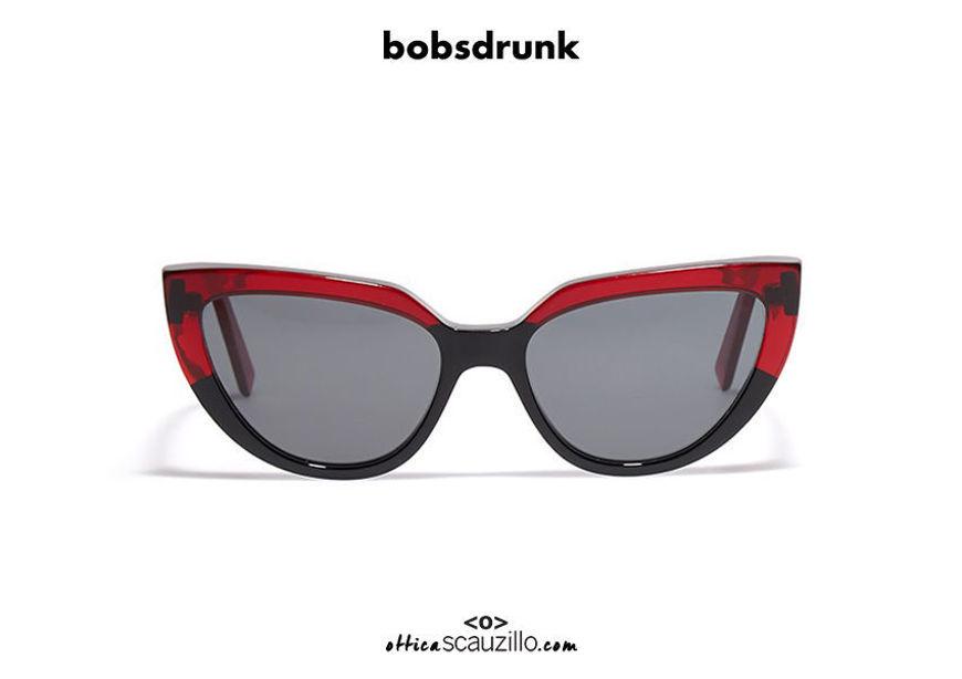 Acquista online su otticascauzillo.com il tuo nuovo occhiale da sole Bob Sdrunk Peach/s nero