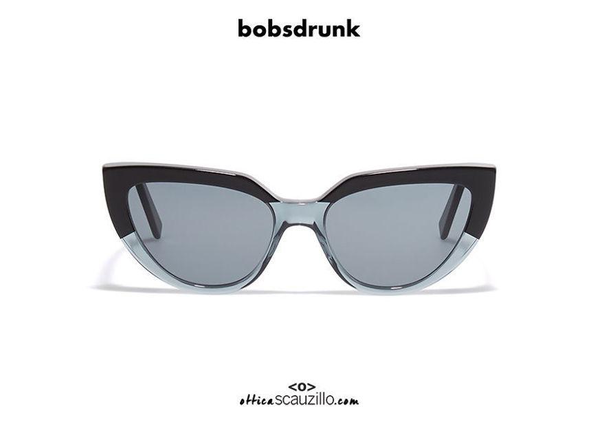 Acquista online su otticascauzillo.com il tuo nuovo occhiale da sole Bob Sdrunk Peach/s grigio e nero