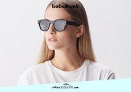Acquista online su otticascauzillo.com il tuo nuovo occhiale da sole Luigi nero