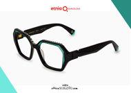 Acquista online su otticascauzillo.com il tuo nuovo occhiale da vista esagono Etnia Barcelona MAMBO RX2 col. BKTQ