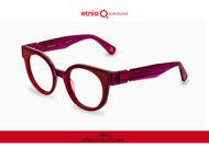 Acquista online su otticascauzillo.com il tuo nuovo occhiale da vista cat eye oversize Etnia Barcelona in acetato MAMBO RX5 col. FURD