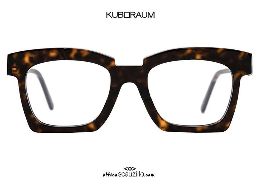 shop online new New square KUBORAUM Mask K5 brown havana eyeglasses on otticascauzillo.com acquisto online nuovo Nuovo occhiale da vista squadrato KUBORAUM Mask K5 havana marrone