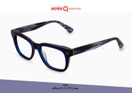 Acquista online su otticascauzillo.com il tuo nuovo occhiale da vista rettangolare Etnia Barcelona in acetato CUGAT col. BL