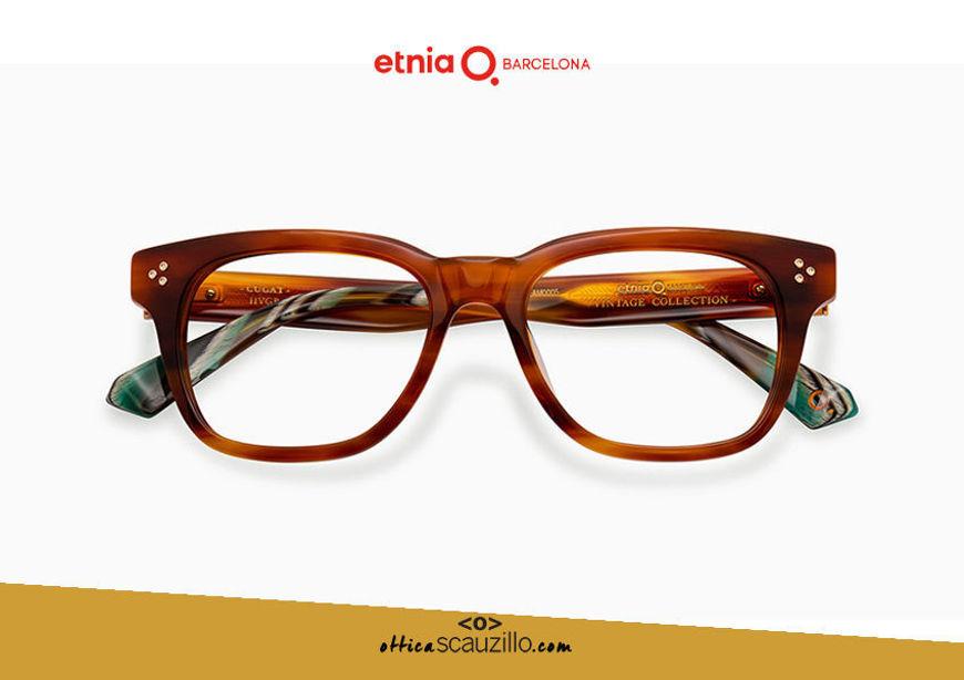 Acquista online su otticascauzillo.com il tuo nuovo occhiale da vista rettangolare Etnia Barcelona in acetato CUGAT col. HVGR