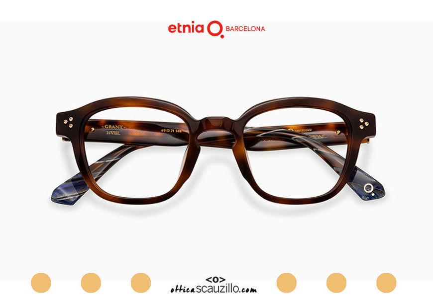 Acquista online su otticascauzillo.com il tuo nuovo occhiale da vista quadrato Etnia Barcelona in acetato GRANT col. HVBL