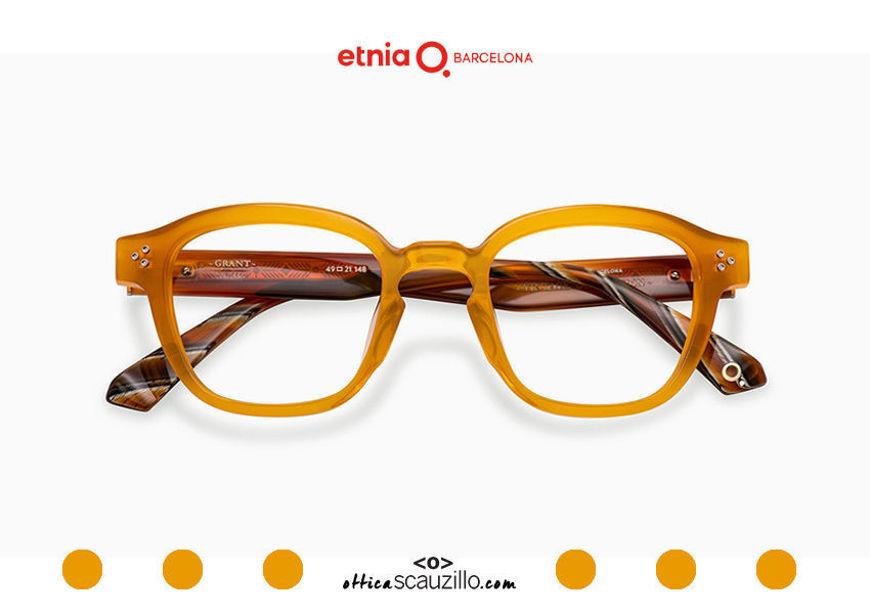 Acquista online su otticascauzillo.com il tuo nuovo occhiale da vista quadrato Etnia Barcelona in acetato GRANT col. YWHV