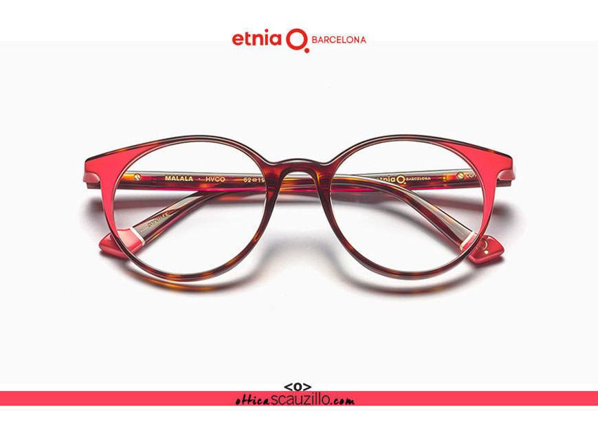 Acquista online su otticascauzillo.com il tuo nuovo occhiale da vista tondo Etnia Barcelona in acetato MALALA col. HVCO