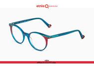 Acquista online su otticascauzillo.com il tuo nuovo occhiale da vista tondo Etnia Barcelona in acetato MALALA col. TQBR