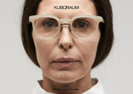 shop online new Silver metal bridge eyeglasses KUBORAUM Mask N14 AR artichoke acquisto online nuovo Occhiale da vista ponte metallo argento KUBORAUM Mask N14 AR carciofo