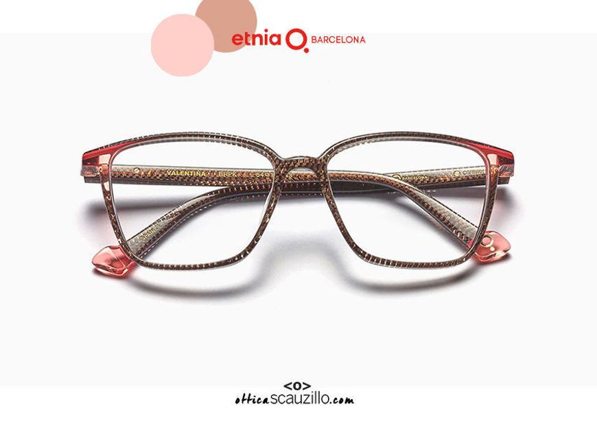 Acquista online su otticascauzillo.com il tuo nuovo occhiale da vista cat eye oversize Etnia Barcelona in acetato VALENTINA col. BRPK