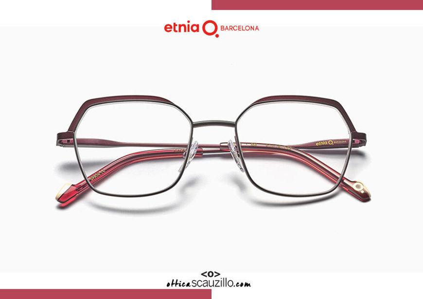 Acquista online su otticascauzillo.com il tuo nuovo occhiale da vista esagonale oversize Etnia Barcelona in metallo SONIA col. BX