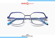 Acquista online su otticascauzillo.com il tuo nuovo occhiale da vista esagonale oversize Etnia Barcelona in metallo SONIA col. BL