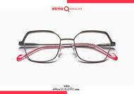 Acquista online su otticascauzillo.com il tuo nuovo occhiale da vista esagonale oversize Etnia Barcelona in metallo SONIA col. PGBK