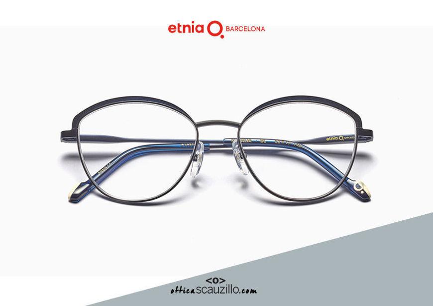 Acquista online su otticascauzillo.com il tuo nuovo occhiale da vista cat eye oversize Etnia Barcelona in metallo NATALIA col. BL