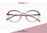 Acquista online su otticascauzillo.com il tuo nuovo occhiale da vista cat eye oversize Etnia Barcelona in metallo NATALIA col. PGPU