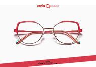 Acquista online su otticascauzillo.com il tuo nuovo occhiale da vista cat eye oversize Etnia Barcelona in metallo ALEKSANDRA col. PGRD