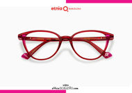 Acquista online su otticascauzillo.com il tuo nuovo occhiale da vista cat eye oversize Etnia Barcelona in acetato VIRGINIA col. RDBX