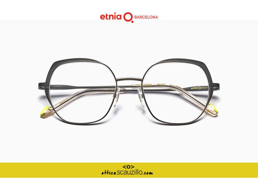 Acquista online su otticascauzillo.com il tuo nuovo occhiale da vista esagonale oversize Etnia Barcelona in metallo GEORGIANA col. BKGD