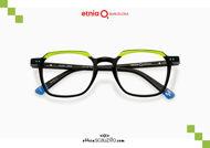 Acquista online su otticascauzillo.com il tuo nuovo occhiale da vista rettangolare Etnia Barcelona in acetato FUJUR col. BKGR
