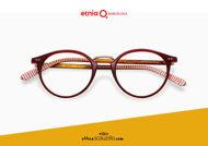Acquista online su otticascauzillo.com il tuo nuovo occhiale da vista tondo Etnia Barcelona in acetato TRUMAN col. BXHV