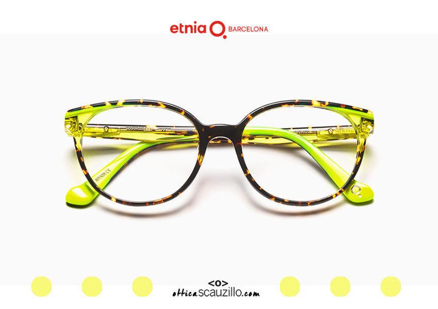 Acquista online su otticascauzillo.com il tuo nuovo occhiale da vista cat eye oversize Etnia Barcelona in acetato HANNAH BAY col. HVYW