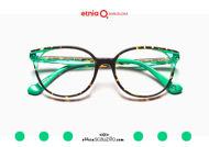Acquista online su otticascauzillo.com il tuo nuovo occhiale da vista cat eye oversize Etnia Barcelona in acetato HANNAH BAY col. HVGR